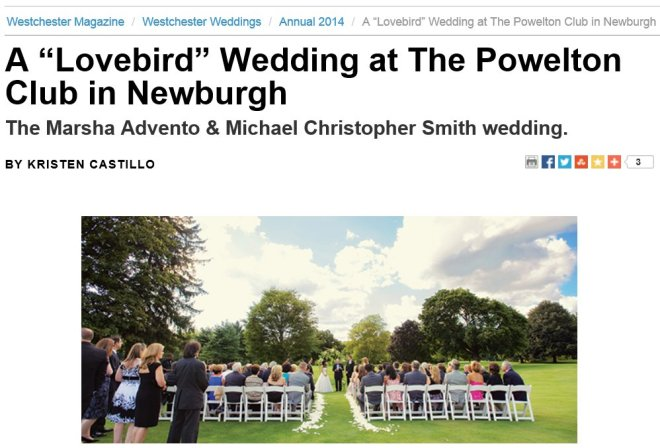 DJ Bri Swatek at Marsha and Michael's Powelton Club Wedding Courtesy of Ulysses Photography and Westchester Magazine