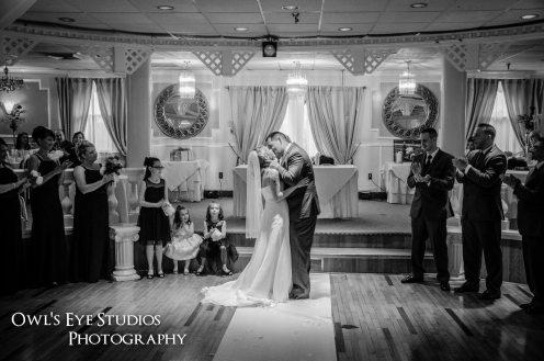 Hudson Valley Wedding Ceremony at La Mirage Set to Music by DJ Bri Swatek Courtesy of Owl's Eye Studios