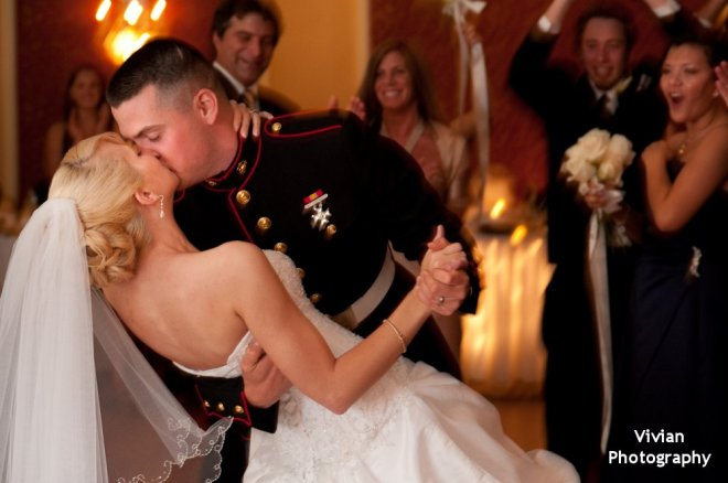 Hudson Valley Wedding DJ Bri Swatek First Dance Poughkeepsie Grand Hotel Vivian Photography