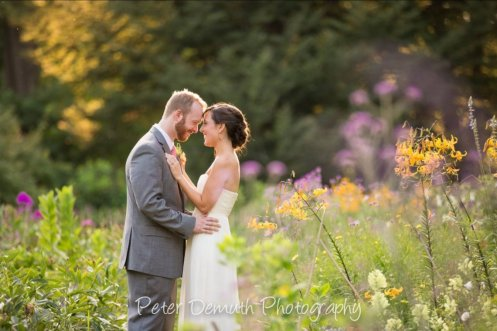 Hudson Valley Wedding Ceremony at Locust Grove Courtesy of Peter Demuth Photography