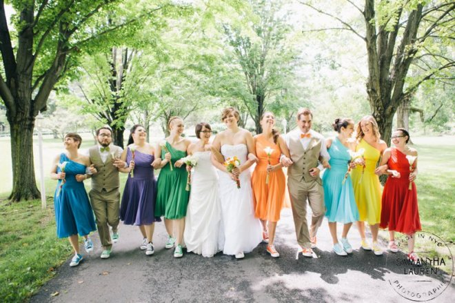 Jessica and Courtney's Hudson Valley Wedding at The Meadowbrook Courtesy of Samantha Lauren Photographie (Music by DJ Bri Swatek)