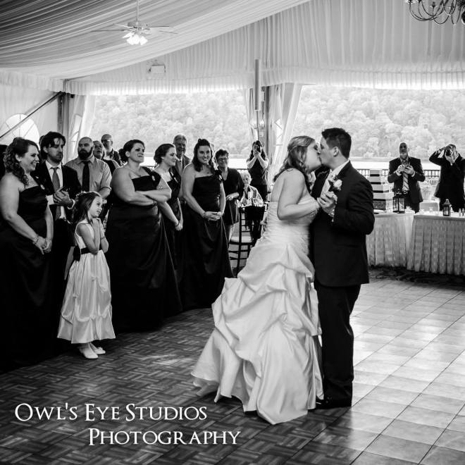 Hudson Valley Wedding DJ Bri Swatek First Dance Grandview Owl's Eye Studios