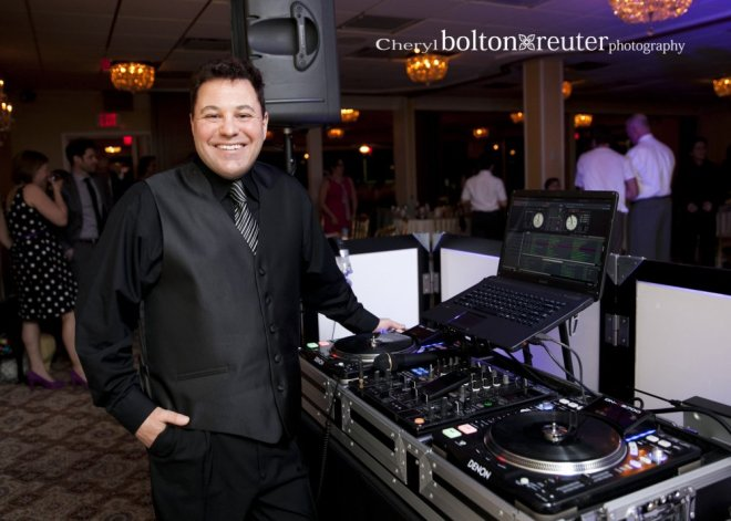 Hudson Valley Wedding DJ Bri Swatek at Christo's Courtesy of Cheryl Bolton-Reuter Photography