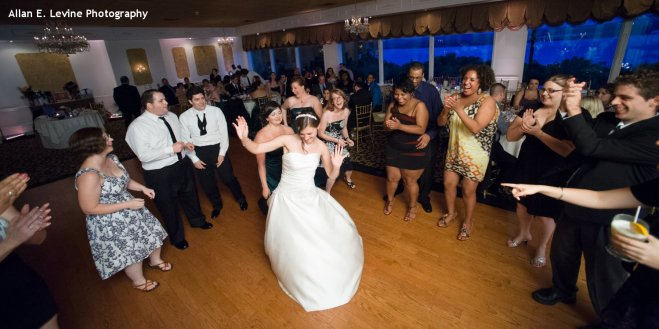 Hudson Valley Wedding Dance Party at Dutchess Manor Set to Music by DJ Bri Swatek Courtesy of Allan E Levine Photography