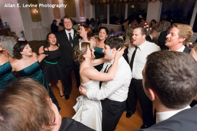 Hudson Valley Wedding Dance Party at Dutchess Manor Set to Music by DJ Bri Swatek Courtesy of Allan E Levine Photography