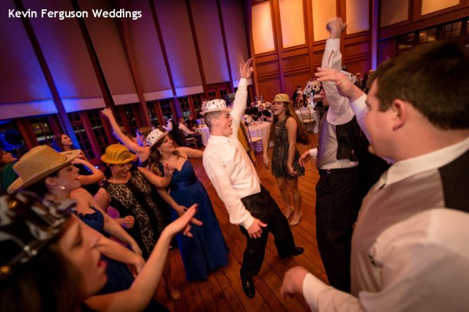 Hudson Valley Wedding Dance Party at Bethel Woods Set to Music by DJ Bri Swatek Courtesy of Kevin Ferguson