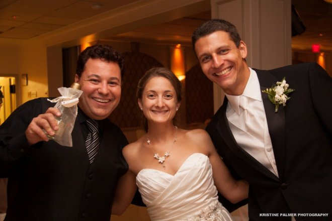 Hudson Valley Wedding Last Dance Set to Music by DJ Bri Swatek at the Villa Borghese Courtesy of Kristine Palmer Photography