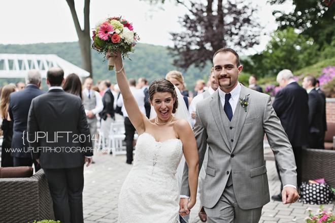 Hudson Valley Wedding Ceremony Set to Music by DJ Bri Swatek at the Grandview Tent Courtesy of Uplift Photography