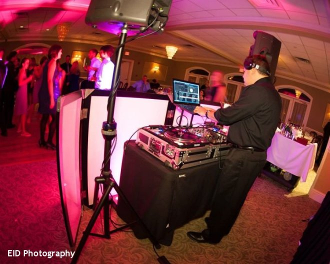 Hudson Valley Wedding DJ Bri Swatek Spinning with Style at the Links at Union Vale Courtesy of EID Photography