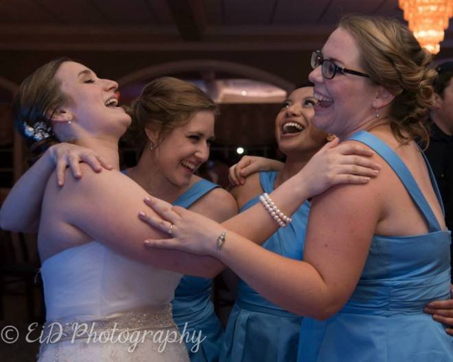 Hudson Valley Wedding Dance Party at the Links at Union Vale set to music by DJ Bri Swatek courtesy of EID Photography