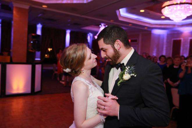 Hudson Valley DJ Bri Swatek First Dance Poughkeepsie Grand Hotel Aperture Photography R&L FB