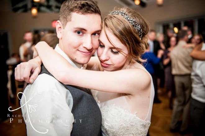 Hudson Valley Wedding DJ Bri Swatek First Dance Locust Grove Rachel Crittenden Photography