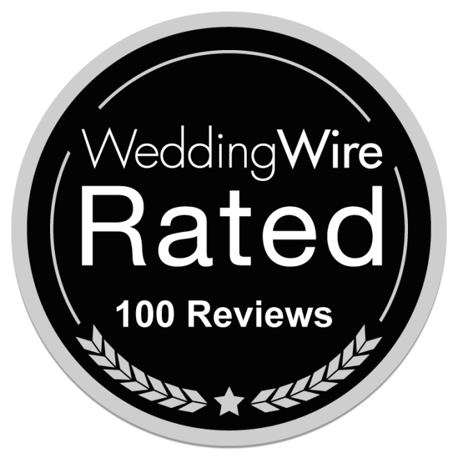 Hudson Valley Wedding DJ Bri Swatek Wins the WeddingWire 100 Reviews Award
