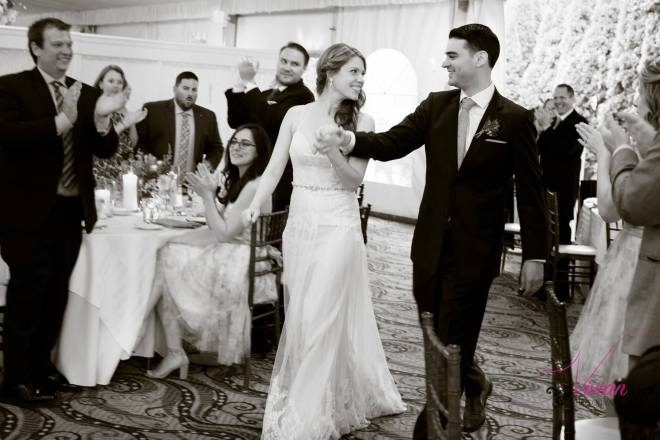 Hudson Valley Wedding DJ Bri Swatek Grand Entrance Grandview Vivian Photography AMJL