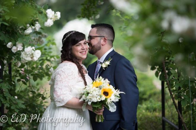 Hudson Valley Wedding Ceremony DJ Bri Swatek Locust Grove EID Photography ASJH