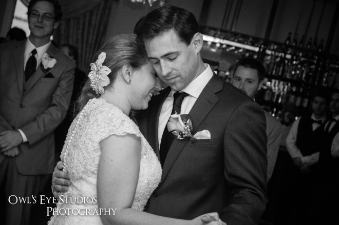 Hudson Valley Wedding DJ Bri Swatek First Dance at Le Chambord Courtesy of Owl's Eye Studios CCSK