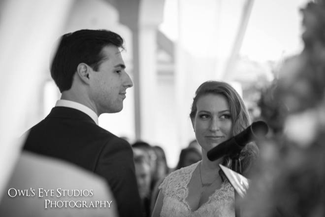 Hudson Valley Wedding DJ Bri Swatek Ceremony at Le Chambord Courtesy of Owl's Eye Studios CCSK