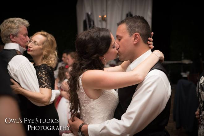 Hudson Valley Wedding DJ Bri Swatek First Dance Grandview Owl's Eye Studios JMIL