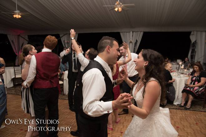 Hudson Valley Wedding DJ Bri Swatek Dance Party Grandview Owl's Eye Studios JMIL