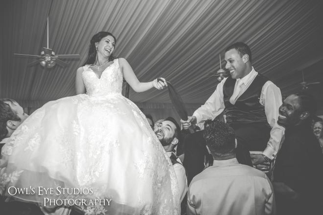 Hudson Valley Wedding DJ Bri Swatek Hora Grandview Owl's Eye Studios JMIL
