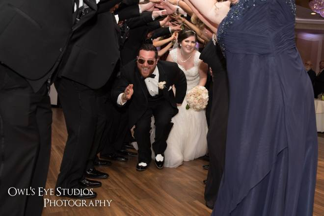 Hudson Valley Wedding DJ Bri Swatek Poughkeepsie Grand Hotel Grand Entrance Owls Eye Studios BRMB