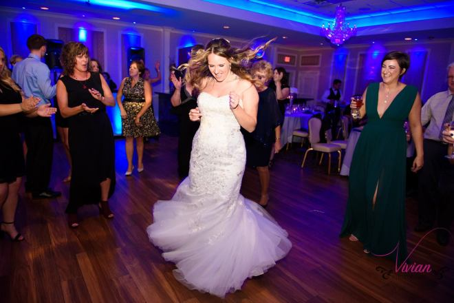 Hudson Valley Wedding DJ Bri Swatek Dance Party Poughkeepsie Grand Hotel Vivian Photography ABCH
