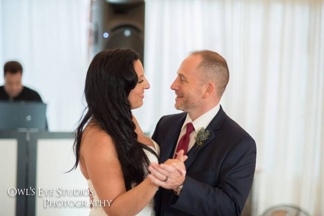Hudson Valley Wedding DJ Bri Swatek First Dance 1 Red Maple Vineyard Owls Eye Studios ADKG