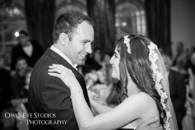 Hudson Valley Wedding DJ Bri Swatek First Dance 1 Villa Borghese Owls Eye Studios LMBM