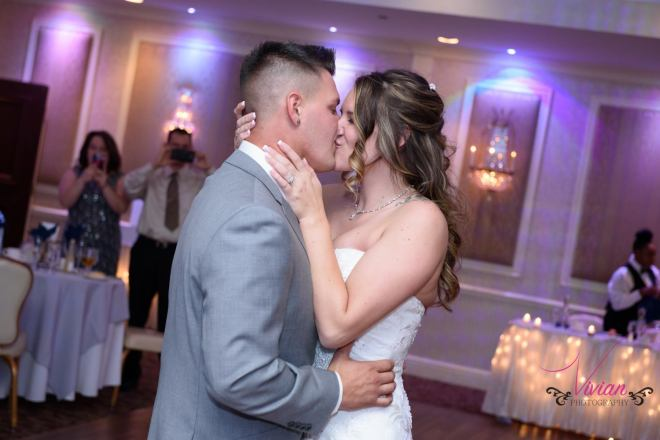 Hudson Valley Wedding DJ Bri Swatek First Dance Poughkeepsie Grand Hotel Vivian Photography ABCH