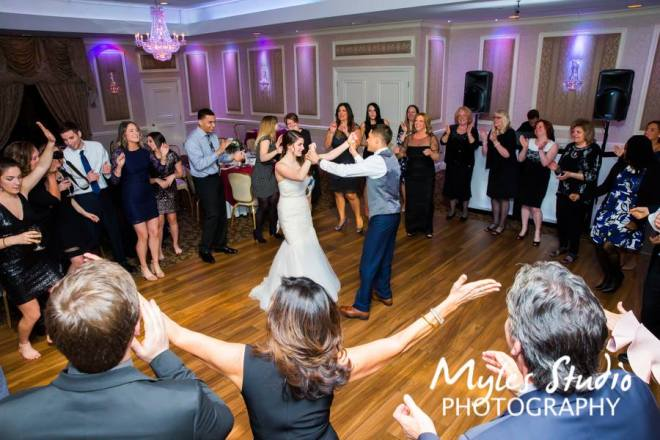 Hudson Valley Wedding DJ Bri Swatek Dance Party 2 Poughkeepsie Grand Hotel Myles Studio Photography