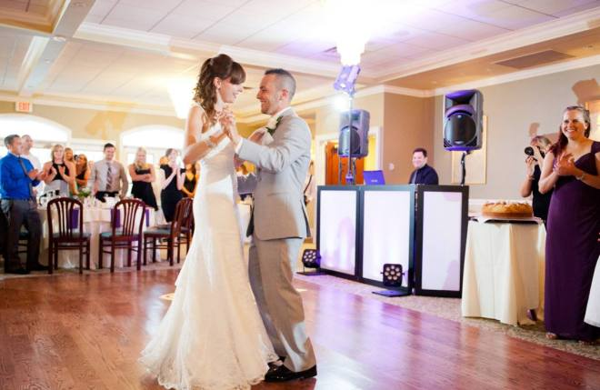 Hudson Valley Wedding DJ Bri Swatek First Dance Links at Union Vale Blue Sky Photography