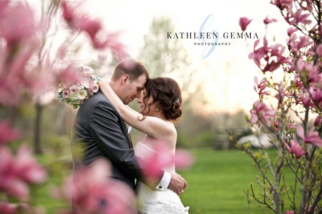 Hudson Valley Wedding DJ Bri Swatek Ceremony Lippincott Manor Kathleen Gemma Photography