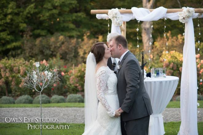 Hudson Valley Wedding DJ Bri Swatek Ceremony Locust Grove Owls Eye Studios ESJD