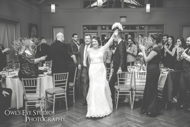 Hudson Valley Wedding DJ Bri Swatek Entrance Locust Grove Owls Eye Studios ESJD