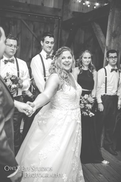 Hudson Valley Wedding DJ Bri Swatek First Dance 3 Buttermilk Falls Owls Eye Studios ECAB FB