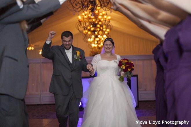 Hudson Valley Wedding DJ Bri Swatek West Hills Nidya Lloyd Photography Grand Entrance KFDLl458