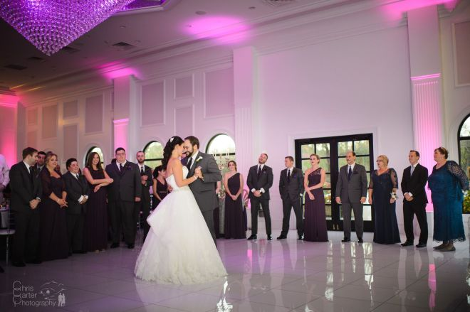 Hudson Valley Wedding DJ Bri Swatek First Dance Chris Carter Photography Villa Venezia FB BFVQ