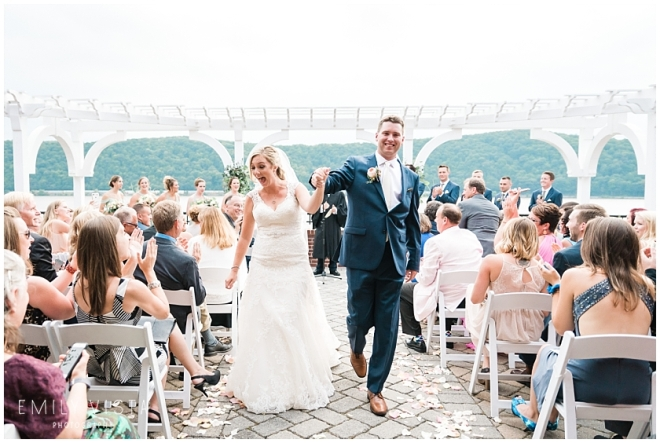Hudson Valley Wedding DJ Bri Swatek Ceremony Grandview Emily Vista Photography 460-1197_WEB
