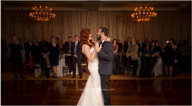 Hudson Valley Wedding DJ Bri Swatek First Dance Grandview Cassondre Mae Photography CWNL