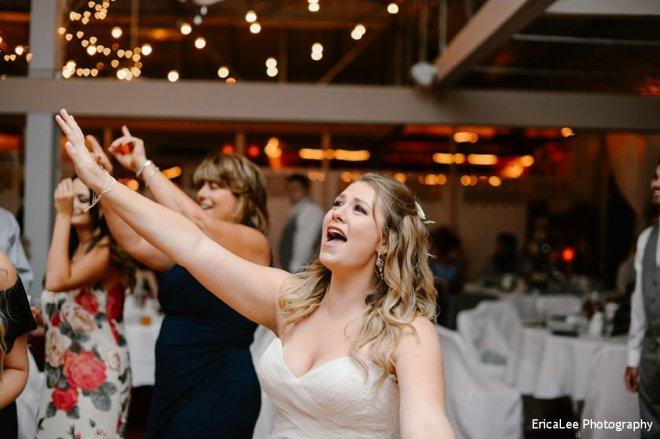 Hudson Valley Wedding DJ Bri Swatek Dance 1 Lippincott Manor EricaLee Photography MCMM