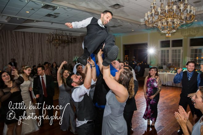 Hudson Valley Wedding DJ Bri Swatek Dance Party 5 Grandview Little But Fierce Photography FWDW