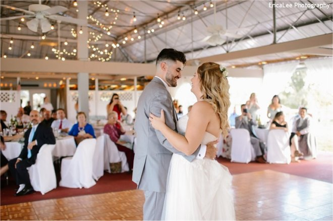 Hudson Valley Wedding DJ Bri Swatek First Dance 1 Lippincott Manor EricaLee Photography MCMM