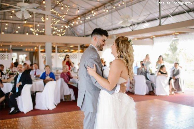 Hudson Valley Wedding DJ Bri Swatek First Dance 1 Lippincott Manor EricaLee Photography MCMM