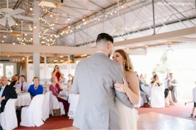 Hudson Valley Wedding DJ Bri Swatek First Dance 2 Lippincott Manor EricaLee Photography MCMM
